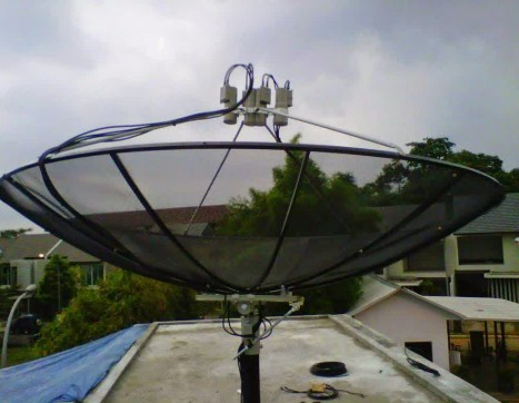 parabola jaring
