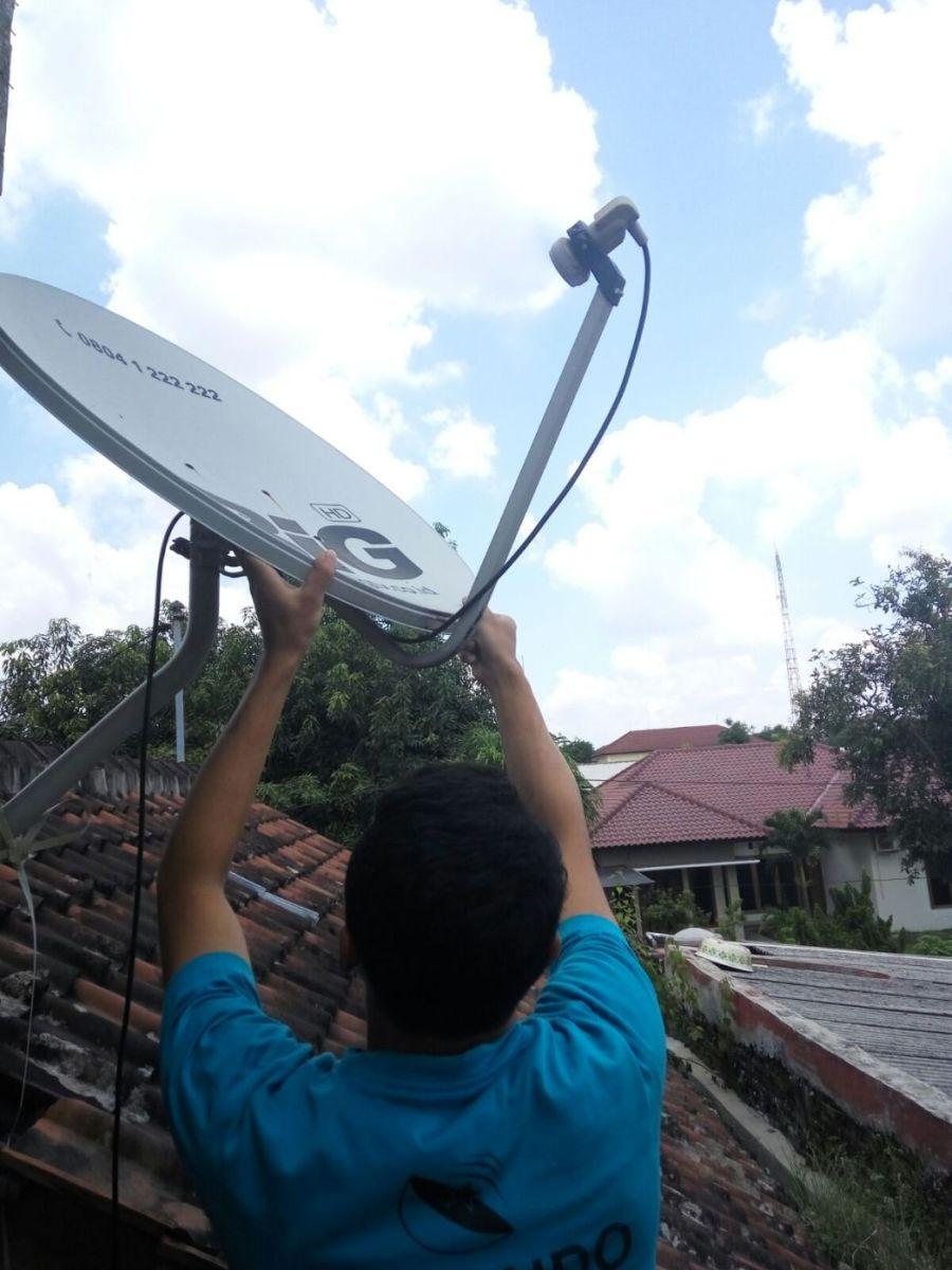 Parabola 500Rb Siaran TV lengkap