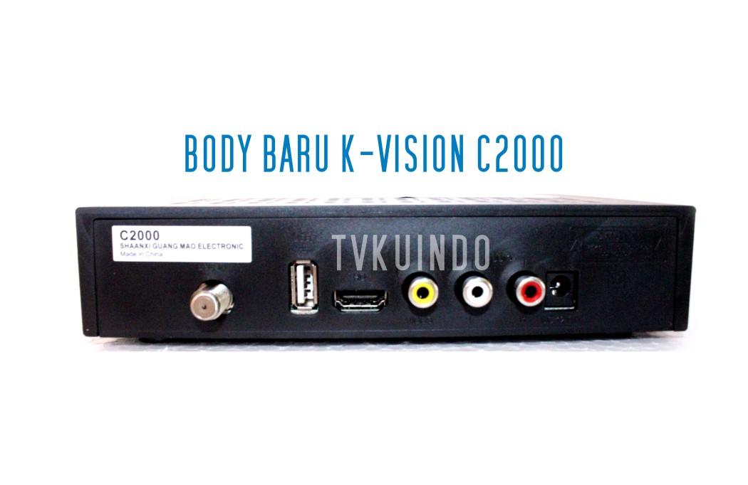 back receiver c2000 baru