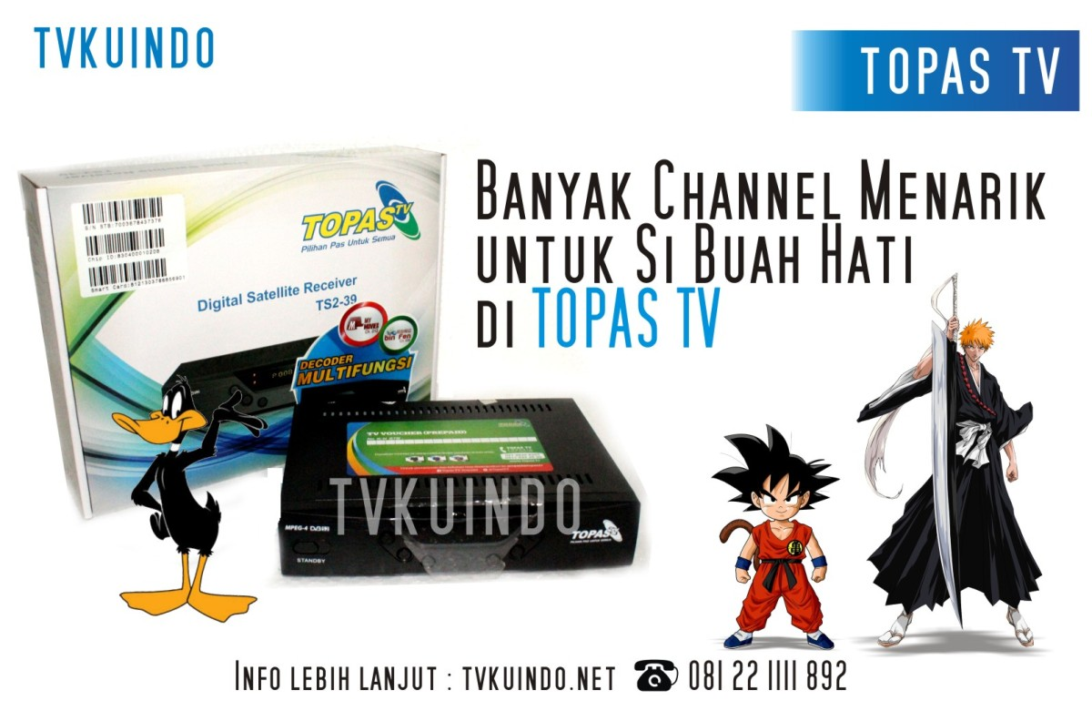 Update Channel Topas Tv HD 2017