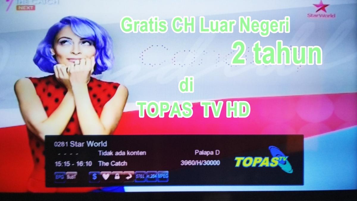 Topas Tv Gratis 2 Tahun Channel Eklusif Tvkuindo 085 70 22 11 8 Paket Basic Setahun