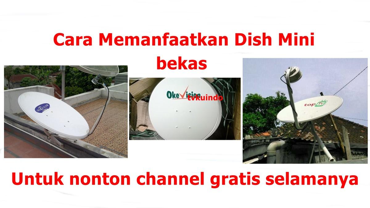 Cara Tambah Channel Gratis selamaya  di  indovision ,Okevision dan Top tv