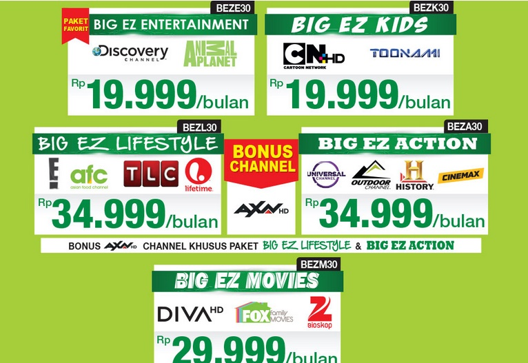 paket hemat kids big tv