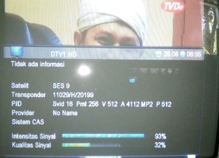 Frekuensi tv desa di ses 9 Ku band