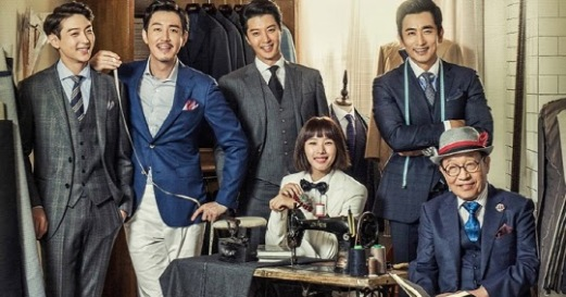 The Gentlemen of Wolgyesu Tailor Shop poster korea drama