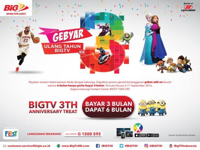 big tv promo