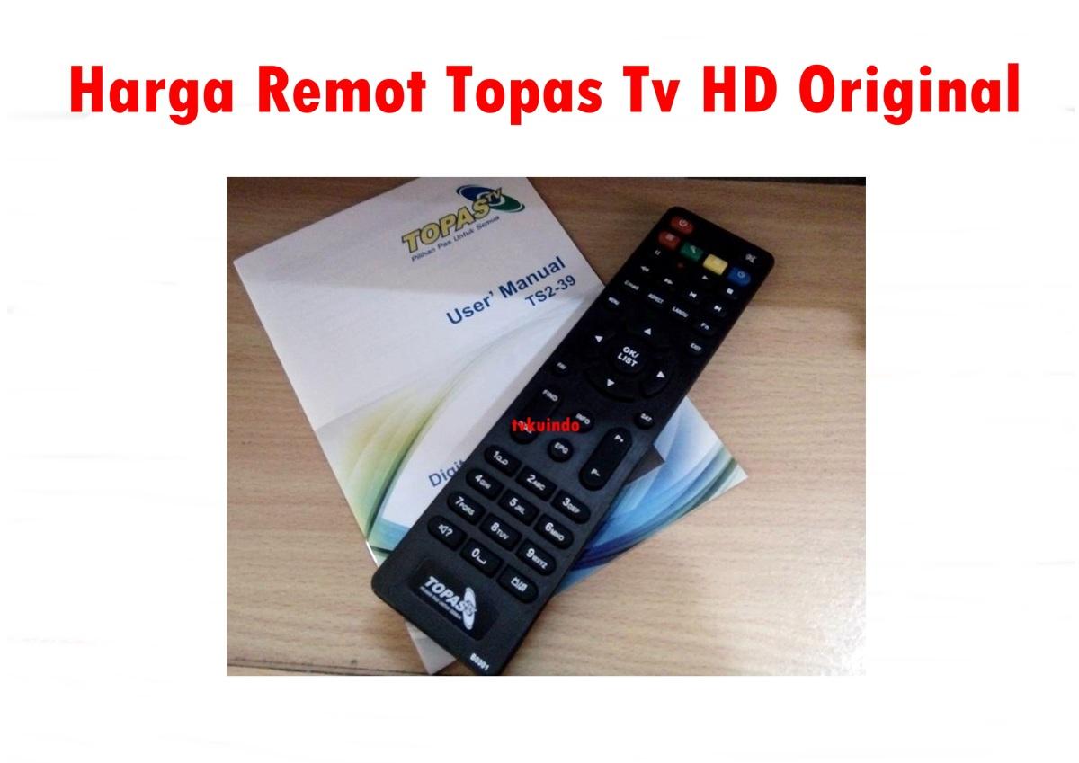 Remot Topas Tv Hd Ori Murah Tvkuindo 085 70 22 11 8 Paket Basic Setahun