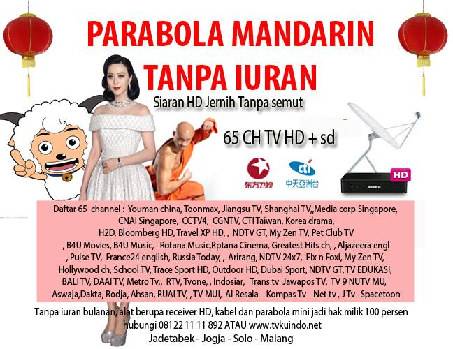 mandarin smv tv