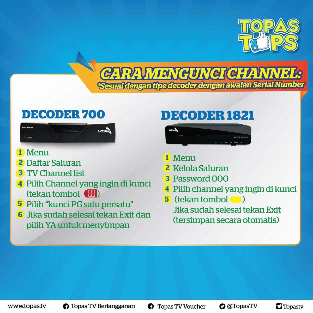Tips Cara Mengunci Channel Dari Anak Di Topas Tv Tvkuindo 085 70 Paket Basic Setahun 22 11 8