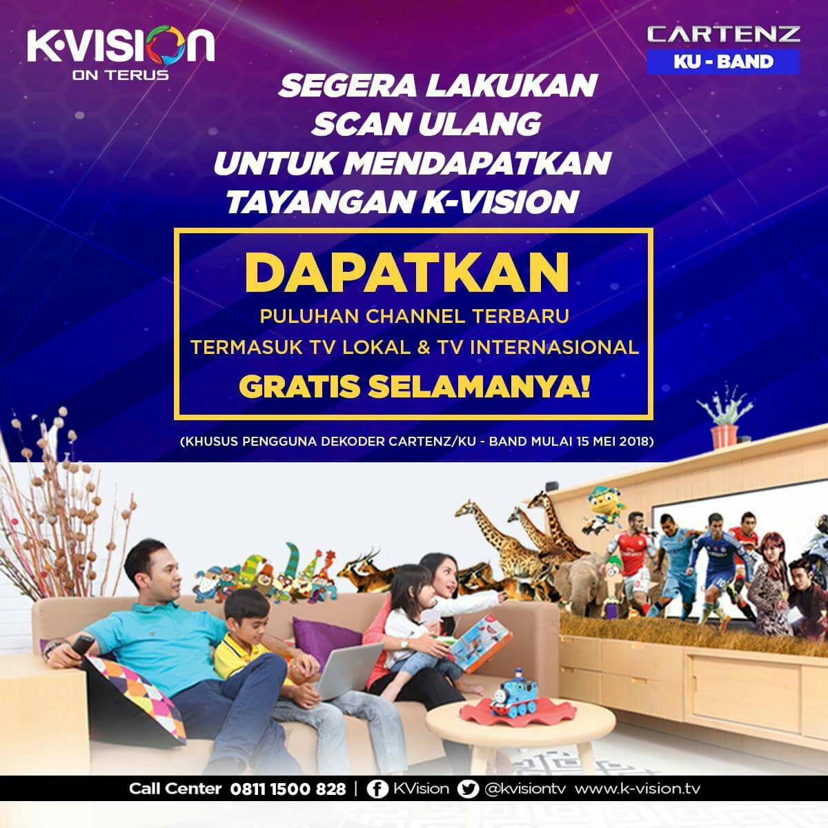 Dapat Kan Channel Tv Lokal Dan Internasional Gratis Di K Vision Paket Family Parabola Ku Band C Tvkuindo 085 70 22 11 8