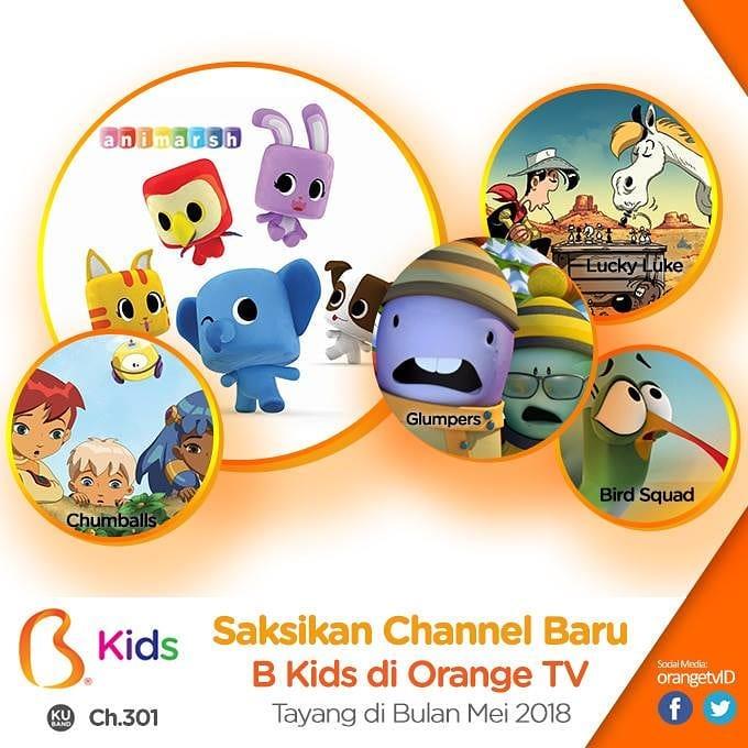 Channel anak baru di orange tv   TVKUINDO 085 70 22 11 11 8