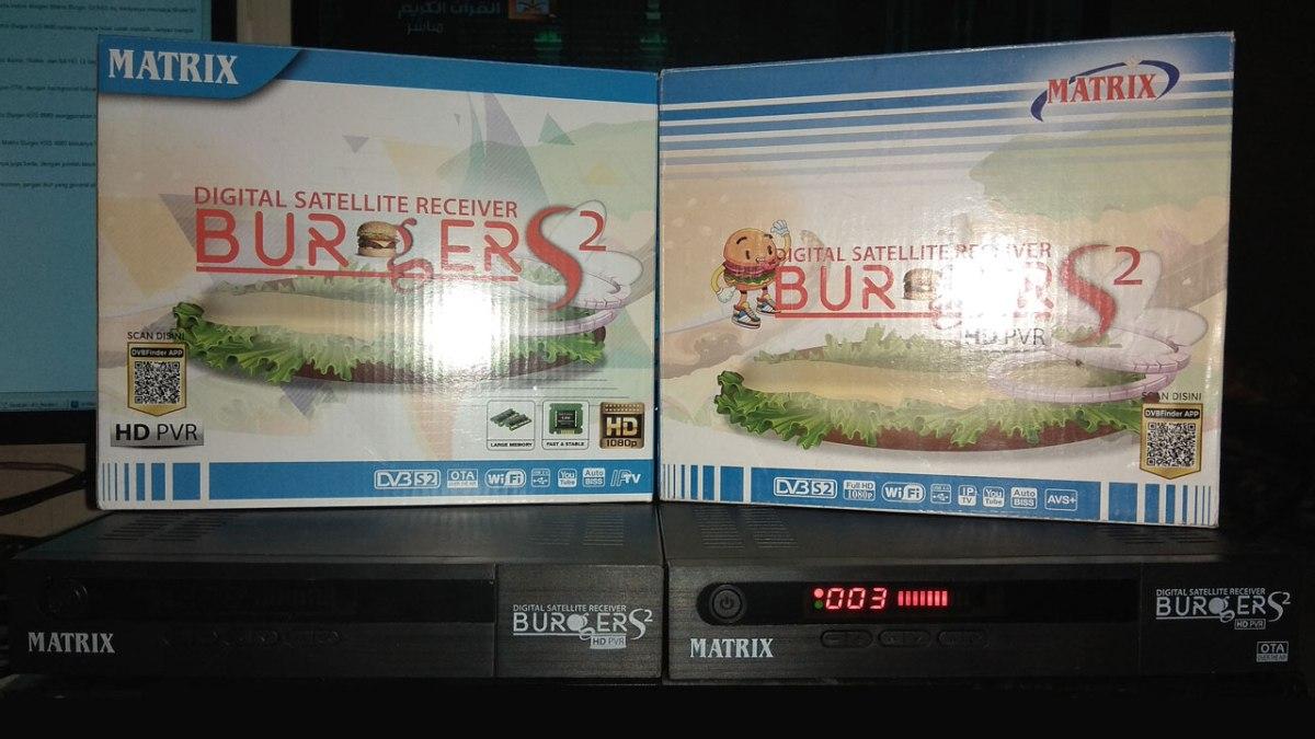 Cara Membedakan Receiver Matrix Burger K5S 8MB dan 4MB